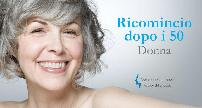 Ricomincio dopo i 50 – Donna