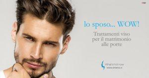 Sposo d'estate? Focus sul viso. Le nuove frontiere della Medicina estetica al maschile