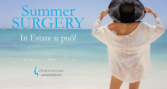 You are currently viewing Summer surgery: in estate si può!